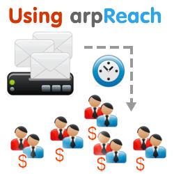 using arpReach