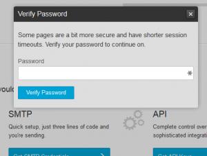 verify mandrill password