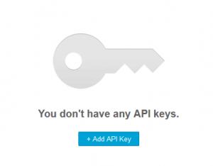 setup an api key