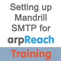Set-up mandrill smtp