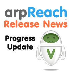 Integrated verification progress update