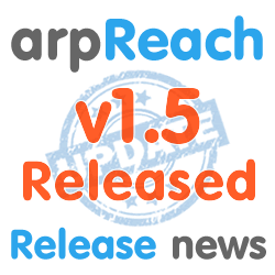 arpreach 1.5 released