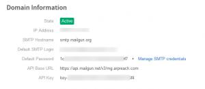 domain active mailgun