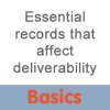 essential records that affect email delivery