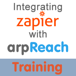integrate zapier with arpreach faqs