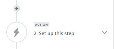 action step setup